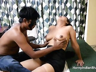 Tasty Big Backside Desi Indian Bhabhi Sucking Knob