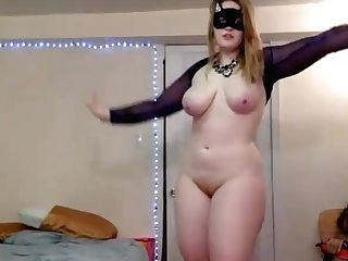Sexy Curvey  First-timer Female Shows Her Cooch