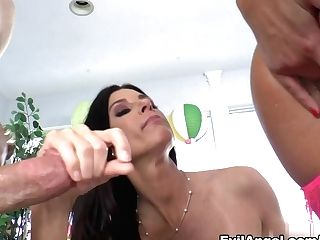 Horny Porn Industry Stars Jessy Jones, India Summer, Adriana Chechik In Exotic Big Butt, Brown-haired Xxx Clip